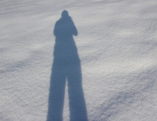 Prinzessin im Winter Wonder Land