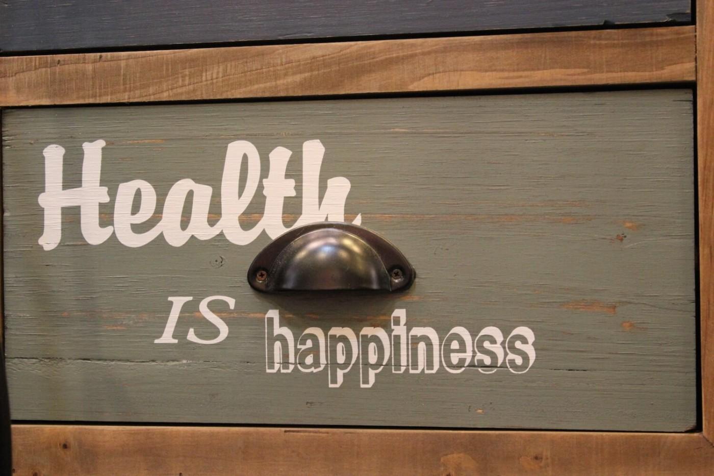 gesund glücklich