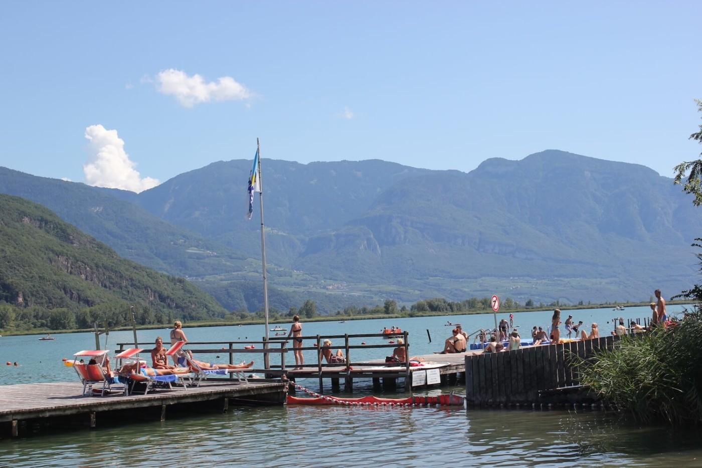 Urlaub am Kalterer See