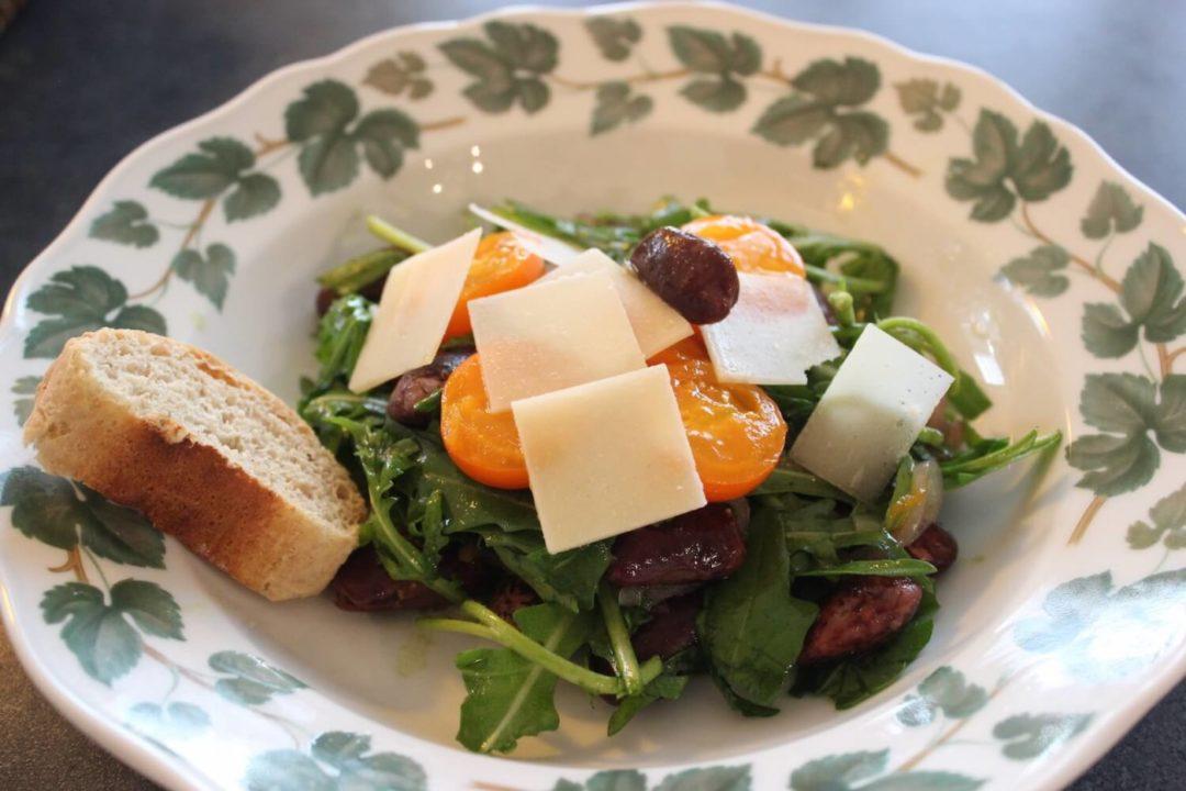 Königlicher Salat mit Steirischen Käferbohnen