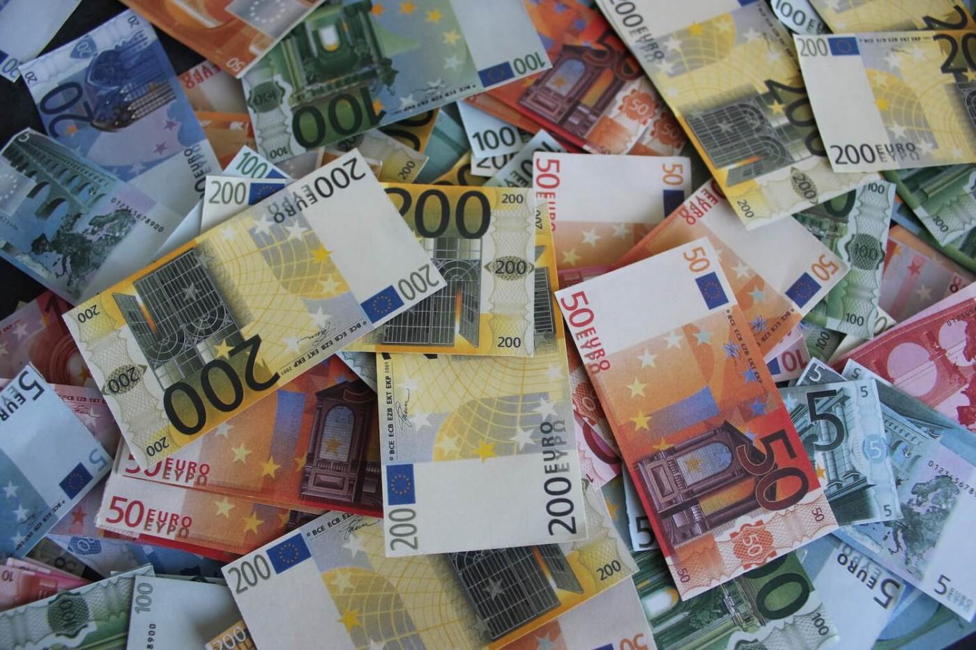 Geld scheffeln