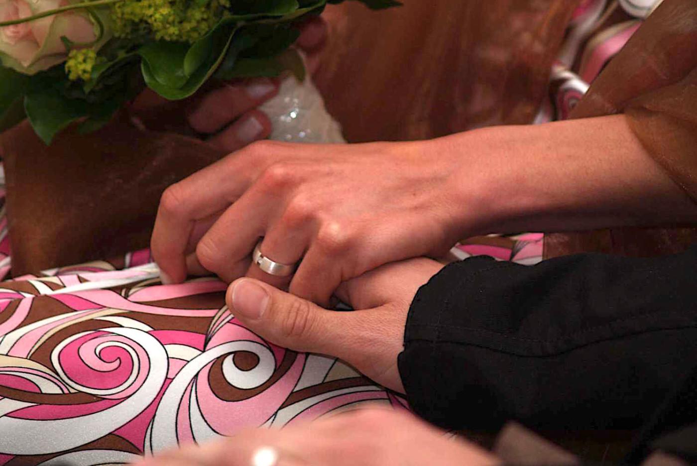 Liebesglück und Hochzeit