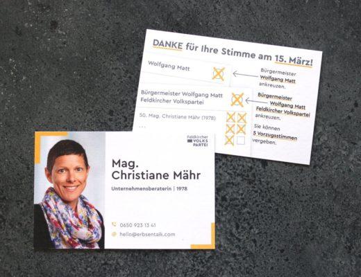 Meine Wahl: Feldkirch verbindet